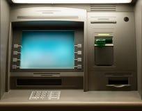 Cash Machine. Night shot of a Cash Machine close-up Stock Photos
