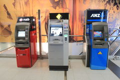 Cash machine ATM. In Melbourne Australia Stock Photo