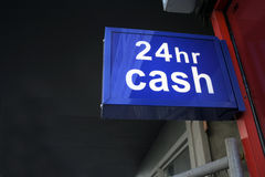 Cash machine, cash, cashpoint, ATM, money, currenc Royalty Free Stock Photo