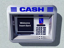 Cash Machine Royalty Free Stock Photos