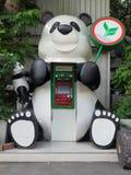 CASH MACHINE DEL PANDA Fotografia Stock
