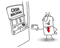 Cash machine Stock Photos