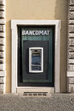 Cash machine in Rome. A Cash machine in Rome  (Bancomat Royalty Free Stock Images
