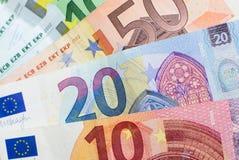 Cash money - euro bills , european money Stock Photography