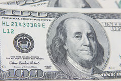 Cash money hundred dollars USD Royalty Free Stock Photo