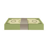 Cash money icon image. Vector illustration design Stock Photos