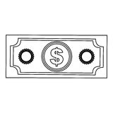 Cash money icon image. Vector illustration design Stock Image