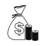 Cash money icon image. Vector illustration design Stock Photo