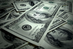 Cash One Hundred Dollars Royalty Free Stock Photo