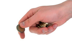 Cash Payment Stock Photo
