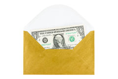 Cash Payment in envelope concept Royalty Free Stock Photography