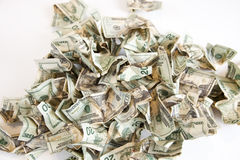 Cash Pile Stock Photos