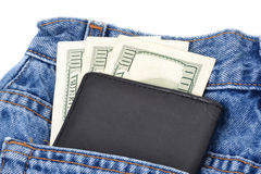 Cash In Pocket Stock Photography