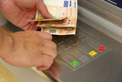 Cash point 06 Stock Photography