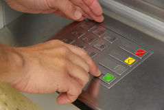 Cash point 10 Stock Images