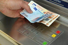 Cash point 12 Stock Photos