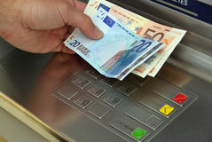 Cash point 13 Stock Images