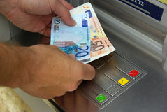 Cash point 14 Royalty Free Stock Image
