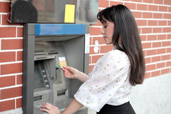 Cash point Royalty Free Stock Image