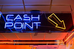 CASH POINT Stock Images