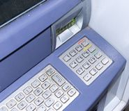 Cash point Royalty Free Stock Images