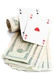 Cash poker Stock Image