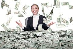 Free Cash Rain Stock Image - 48510711