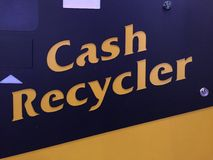 Cash recycler Stock Photography