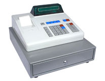 The cash register Royalty Free Stock Photo