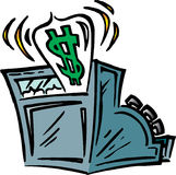 Cash Register Royalty Free Stock Image