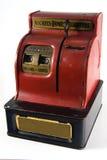 Cash Register Bank. Old Vintage cash register bank quarter dime nickle royalty free stock photos
