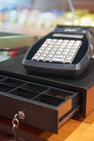 Cash register. Business counter cash Royalty Free Stock Photography