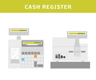 Cash register Royalty Free Stock Photos