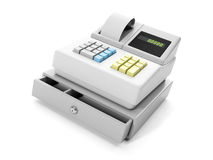 Cash register close-up Royalty Free Stock Photography