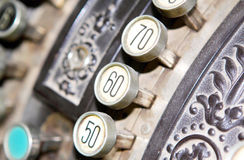 Cash register, close up Stock Photography