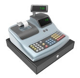 Cash register. Front view Stock Images