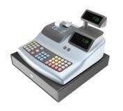 Cash register isolated. On white royalty free illustration