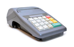 Cash register machine Royalty Free Stock Photography