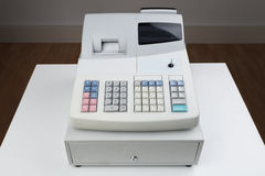 Cash Register Moneybox Stock Images