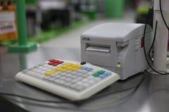 Cash register stock image
