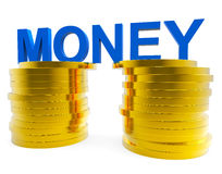 Cash Sales Means Save Money And Capital Stock Photo