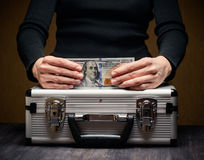 Storage and protection of cash and valuable items Stock Photo