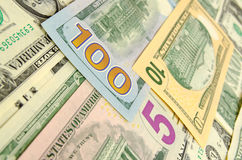 Cash US dollars. Royalty Free Stock Images