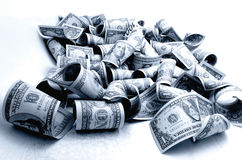 Cash US dollars. Stock Image