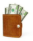 Cash wallet Stock Photography