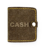 Cash wallet Royalty Free Stock Photos
