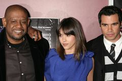 Cash Warren, Forest Whitaker, Jessica Alba Stock Photography
