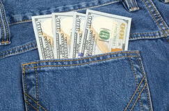 The cash in your pocket Royalty Free Stock Photography