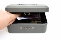 cashbox arkivbilder