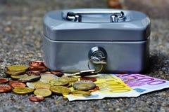 Cashbox, Money, Currency, Cash Box Stock Image
